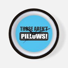 Pillows Wall Clock