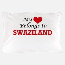 My Heart Belongs to Swaziland Pillow Case