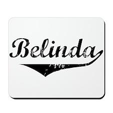 Belinda Vintage (Black) Mousepad