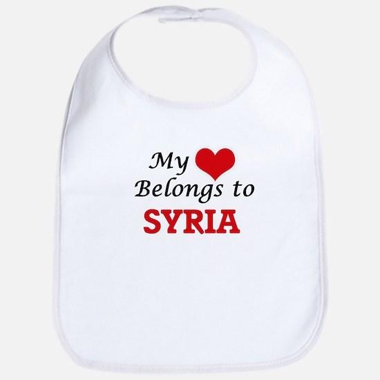 My Heart Belongs to Syria Bib