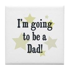 I'm going to be a Dad! Tile Coaster