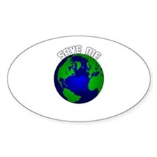Save Me Oval Decal