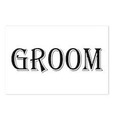 Groom Postcards (Package of 8)