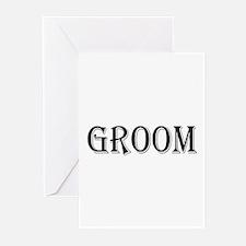 Groom Greeting Cards (Pk of 20)