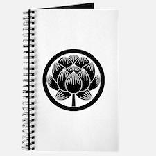 Lotus bloom in circle Journal