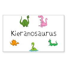 Kieranosaurus Rectangle Decal