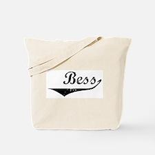 Bess Vintage (Black) Tote Bag