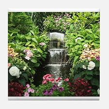 Waterfall Greenhouse Tile Coaster