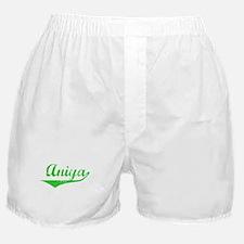 Aniya Vintage (Green) Boxer Shorts