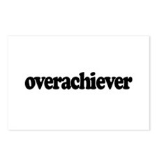 Overachiever Postcards (Package of 8)