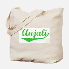 Anjali Vintage (Green) Tote Bag