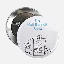 """Time Clock Matt Bennett Show 2.25"""" Button (10 pack"""