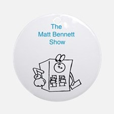 Time Clock Matt Bennett Show Keepsake (Round)