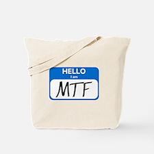 MTF Tote Bag