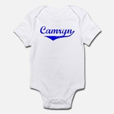 Camryn Vintage (Blue) Infant Bodysuit