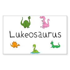 Lukeosaurus Rectangle Decal