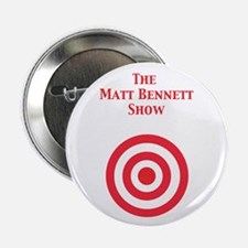 """Red Target Matt Bennett Show 2.25"""" Button (10 pack"""