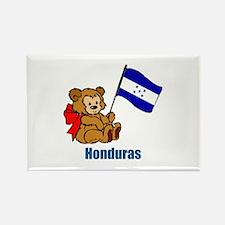 Honduras Teddy Bear Rectangle Magnet