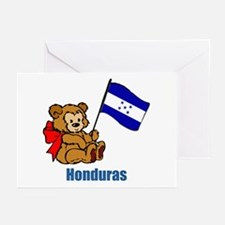 Honduras Teddy Bear Greeting Cards (Pk of 10)