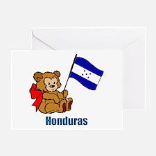 Honduras Teddy Bear Greeting Card