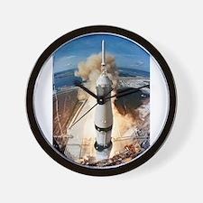 Apollo 11 launch Wall Clock
