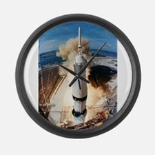 Apollo 11 launch Large Wall Clock