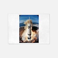 Apollo 11 launch 5'x7'Area Rug