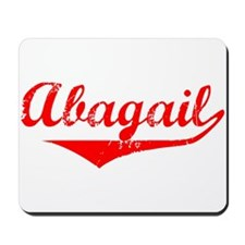 Abagail Vintage (Red) Mousepad
