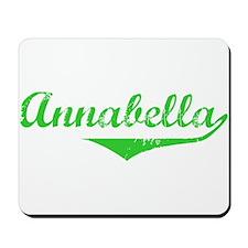 Annabella Vintage (Green) Mousepad