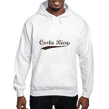 Vintage Costa Rica Retro Hoodie