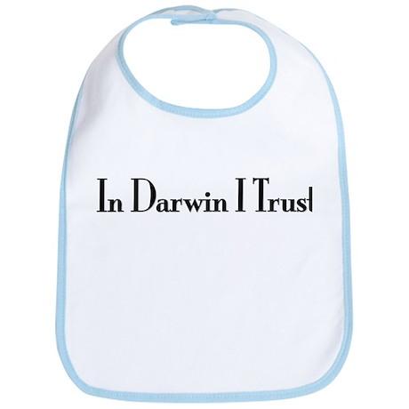 In Darwin I Trust Bib