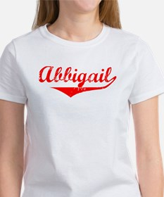 Abbigail Vintage (Red) Women's T-Shirt