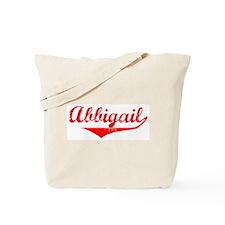 Abbigail Vintage (Red) Tote Bag