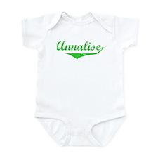 Annalise Vintage (Green) Infant Bodysuit