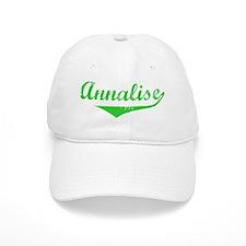 Annalise Vintage (Green) Baseball Cap