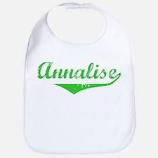Annalise Vintage (Green) Bib