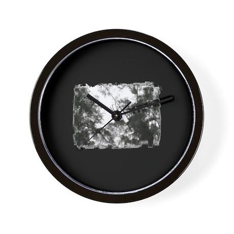 Australian Spider (Black & Wh Wall Clock