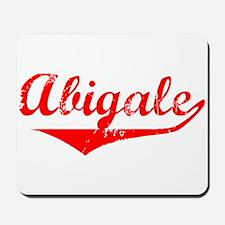 Abigale Vintage (Red) Mousepad