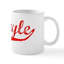 Abigayle Vintage (Red) Coffee Mug