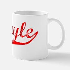 Abigayle Vintage (Red) Mug
