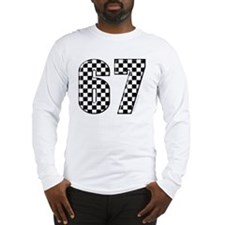 Checkered Flag #67 Long Sleeve T-Shirt