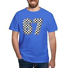 Checkered Flag #67 T-Shirt