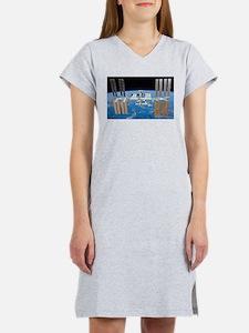 ISS, international space statio Women's Nightshirt