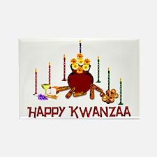 Kwanzaa Holiday Rectangle Magnet