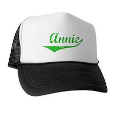 Annie Vintage (Green) Trucker Hat