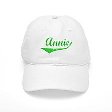 Annie Vintage (Green) Baseball Cap