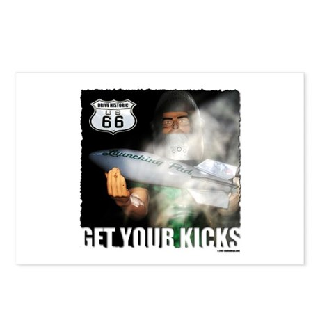 route 66 launching pad Postcards (Package of 8)