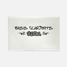 Bass Clarients Rectangle Magnet