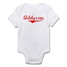 Addyson Vintage (Red) Infant Bodysuit