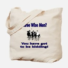 Three Wise Men Single Side Print Tote Bag